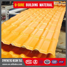 Excellent flexibility hot sale plastic synthetic resin spanish roof sheet tile