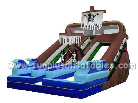 wet dry commercial inflatable water slide slip n slide,giant inflat slide for kids and adult F4157