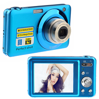 "High Quality V600 15Mp Max 5x Optical Zoom Digital Camera 2.7"" Screen 720P HD Video 9Mega Pixel CMOS Sensor"