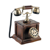 High Class Home Decor Old Model Telephones, Corded Telephone, Vintage Wooden Telephone