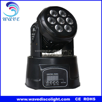 WLEDM-17 led 7x10 (70 watt) quad led dmx moving head light mini moving head dj