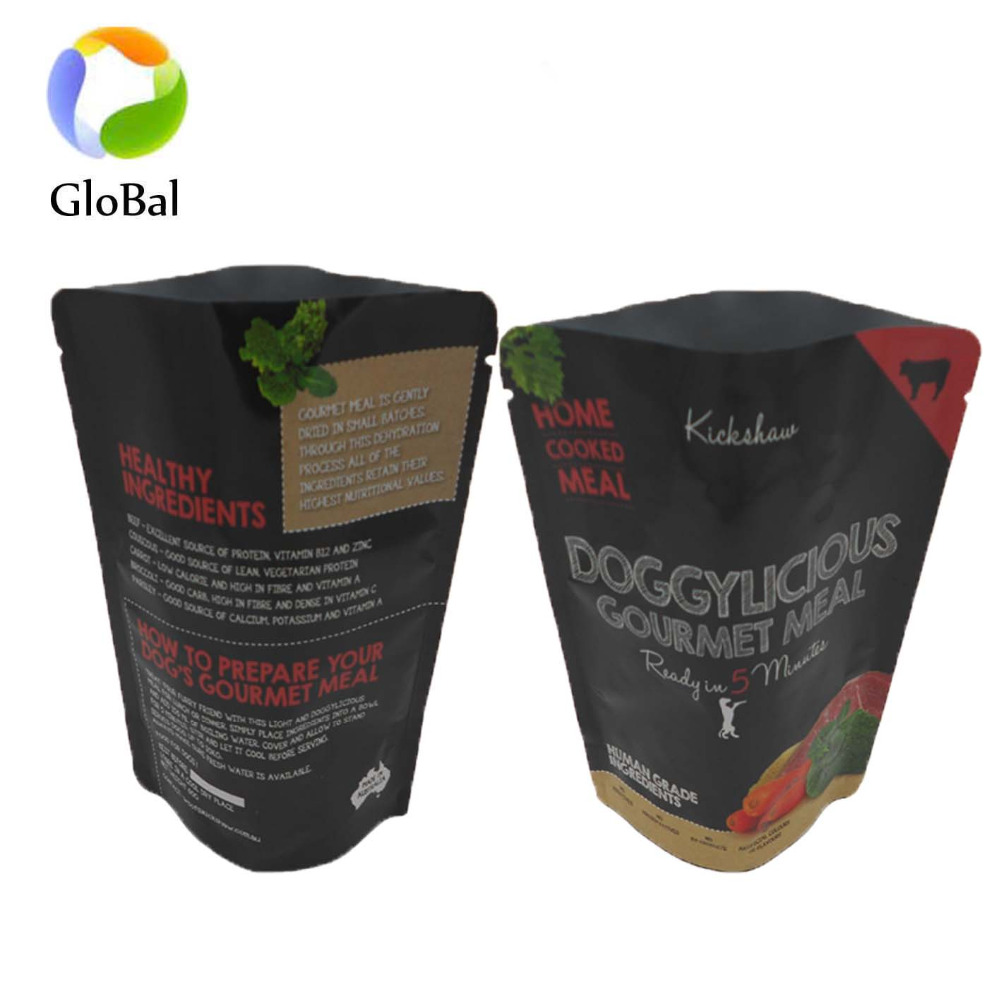 wholesale with good quality sample free stand up gourmet meal nylon retort food bag