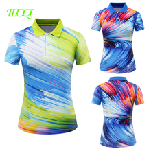 Slimming Body Fashion Short Sleeve Women Sublimation Polo Tshirt