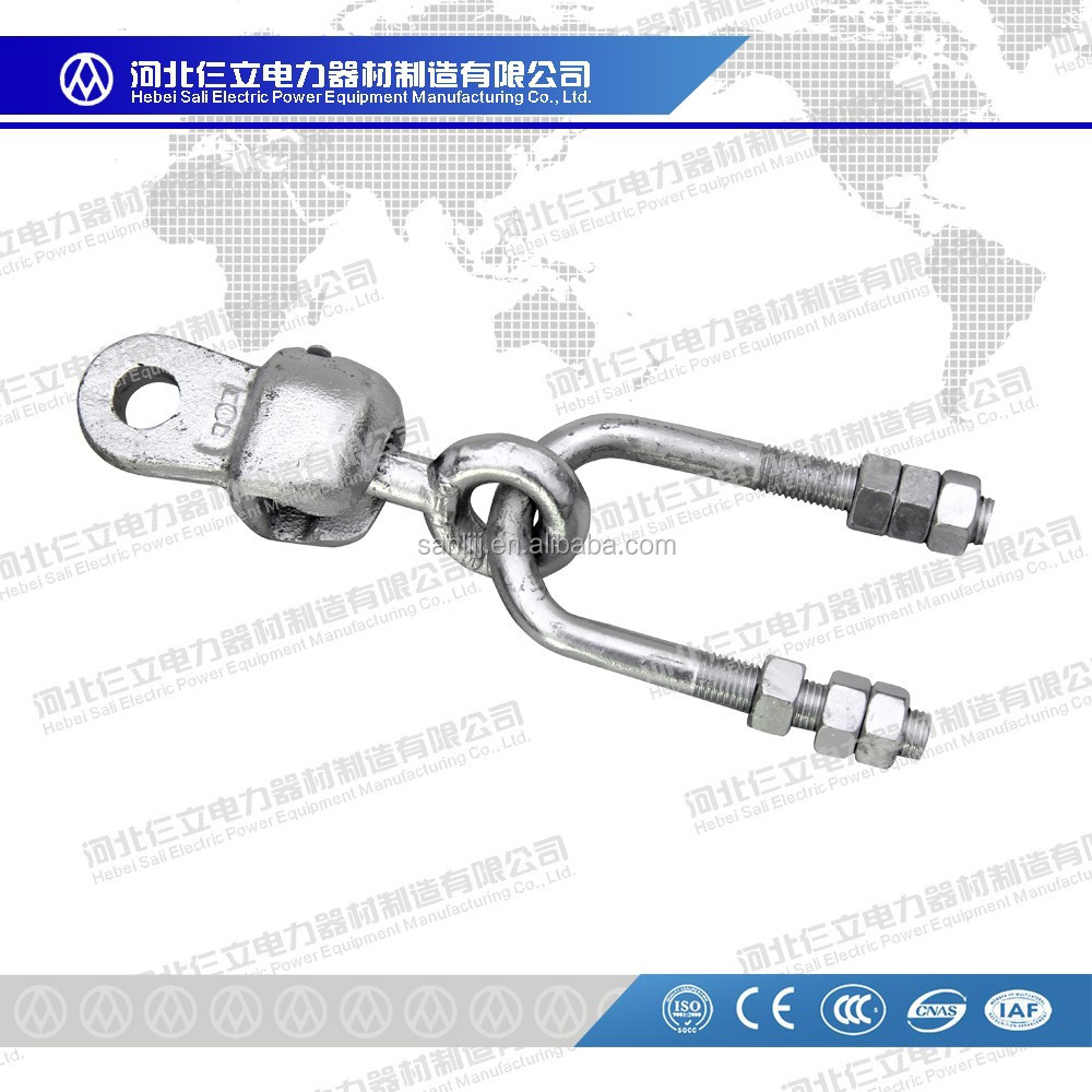 2015 High Quality Socket Clevis /Ball eye /U-bolt with nuts and washers