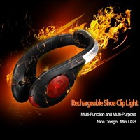 Hot Selling 5 led flashlight rear tail red bike bicycle cycling back light taillight torch for cycling shoes
