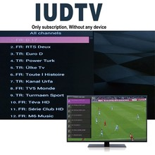 CIELO DE Portugal IUDTV x96 suppport 1600 canales para quad core android tv box salling caliente