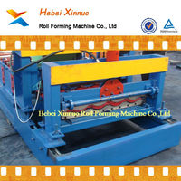 828 roof metal tile making machine