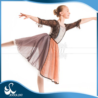 High quality Stretch Girls children girl modern dance dress