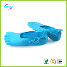 anti-friction summer woman silicone sandals five toe shoes