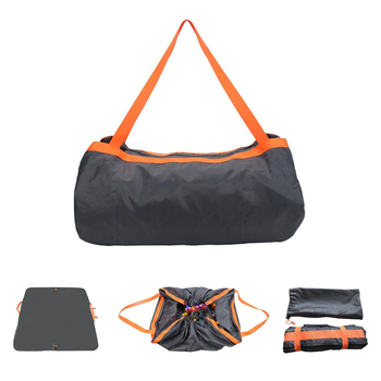 Camping Mat Outdoor Waterproof Foldable Picnic Pads Sand Free Mat Blanket Pad for Beach Tent Hiking+Storage Bag