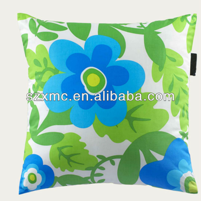 Countryside style embroidery gentle feeling plain color design cotton polyester throw pillow and cushion cover