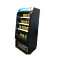 225L Vertical Cold Drink Freezer Beverage Open Display Cooler