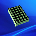 DIP type white chip led 5x7 dot array 3 mm dot matrix led display