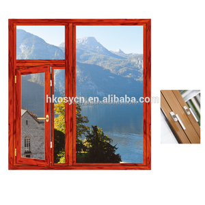 Fast delivery aluminium louver casement windows glass with good price