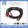 HDMI Male To 5 RCA AV Audio Video Component Cable 1.5 m w/ Net for HDTV DVD Player 1080P