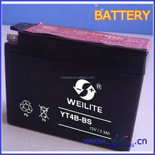 SCL-2013020312 Fast Charging Motorcycle 12V 2.3Ah Battery