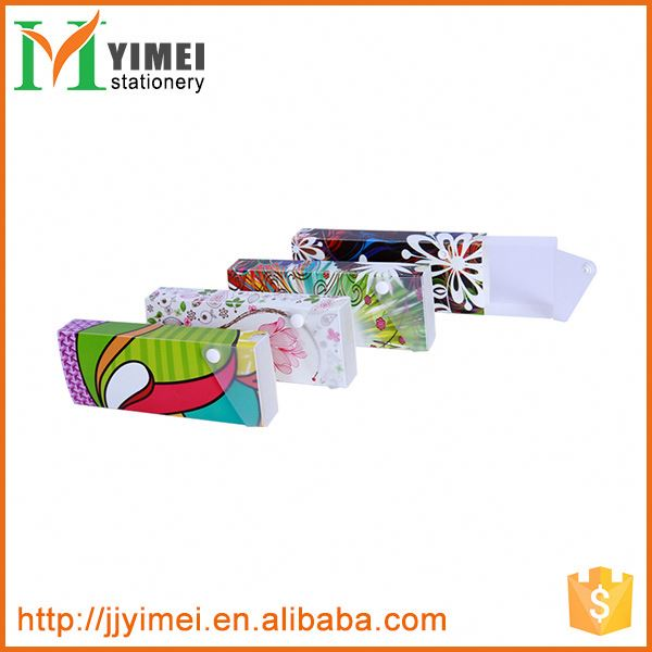 wholesale student or office custom printed plastic pencil case for sale