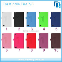 Hot Sale Stand Leather Case For Amazon Kindle Fire HDX 7 Flip Cover Leather Case