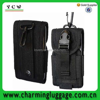 mobile phone carry bag China factory in black