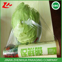 pvc food wrap plastic film fruits vegetables packaging mini roll cling film cutters
