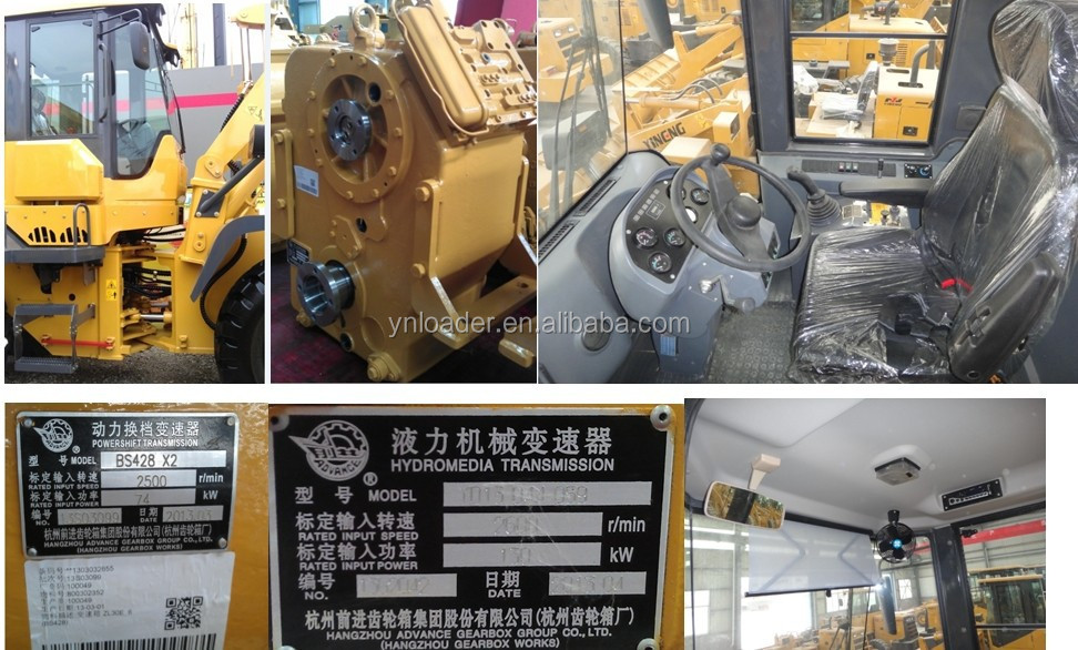 China manufacturer good price for easy operating backhoe wheel loader for sale
