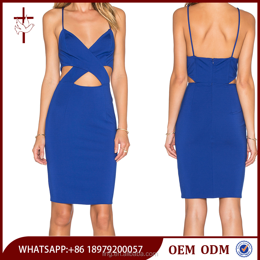 China supplier clothing midi blue ladies evening dress best western dresses