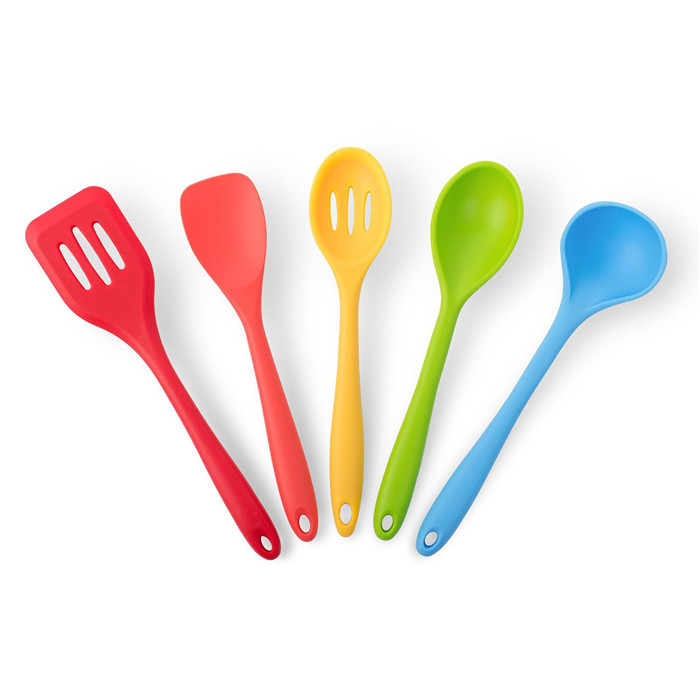 Newly Stylish high quality colorful spoon spatula turner custom 100 manufacturers silicone kitchen utensils