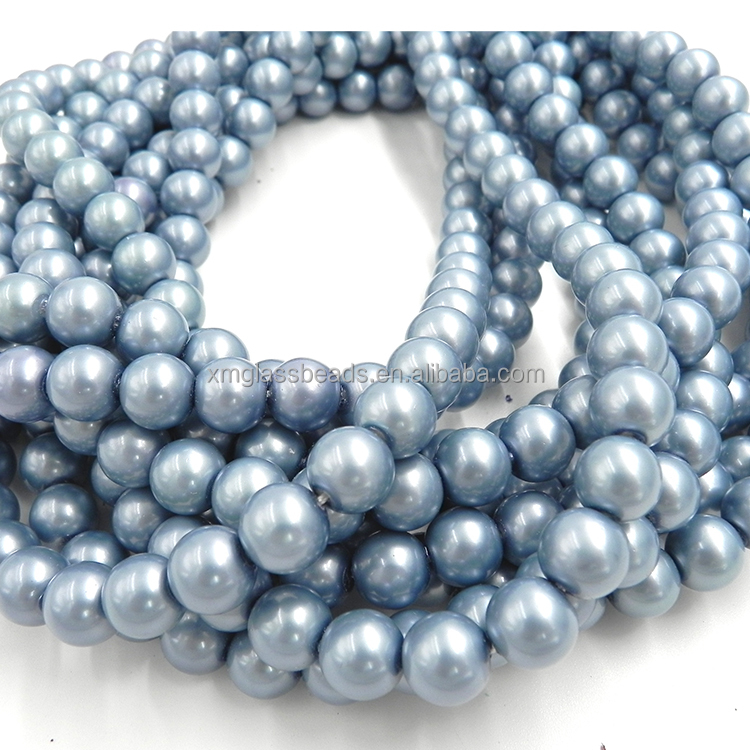Imitation fake pearl strand beads for jewelry making