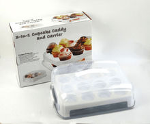 Cupcake carrier with baking tray Model: 44069