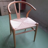 Fashion Paper Rope Chair Beech Chair