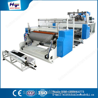 China new design popular 1500MM stretch cling film machine / electric motor rewinding machine