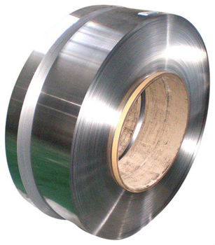 Hot and cold rolled stainless steel strip W.-Nr. 1.4419, DIN X38CrMo14