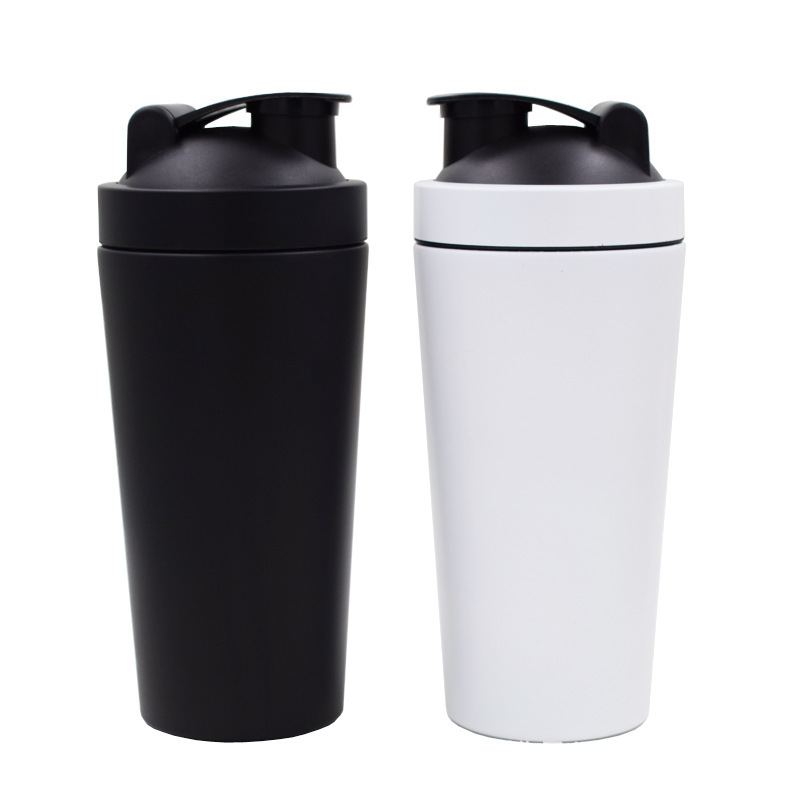 Single Wall 750ml Protein Stainless Steel Shake Bottle