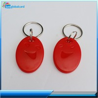 China Manufacture ABS id card keyfobs magnetic blank key fobs