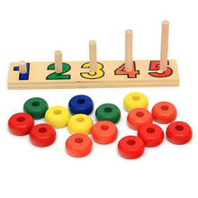 2018 wooden counting toys educational wooden math toys for kid math toys for wholesale