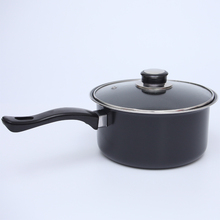Kitchen Cooking Non Stick Small Soup Pan With Lid