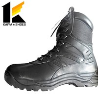 ankle design military school combat boots for police patrol