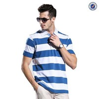 Stylish Men's Yarn Dyed Polo T Shirt Manufacturer