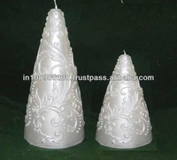paraffin wax Statue candle