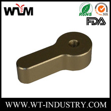Custom Metal Fabrication Anodized 4 axis cnc machining aluminum parts, cnc part machined