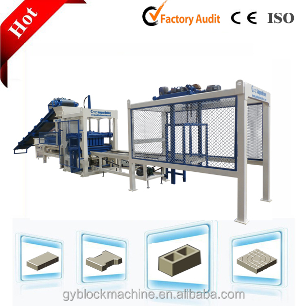 Stationary Multi-function Automatic Concrete Paver Block Machine for Construction of Road
