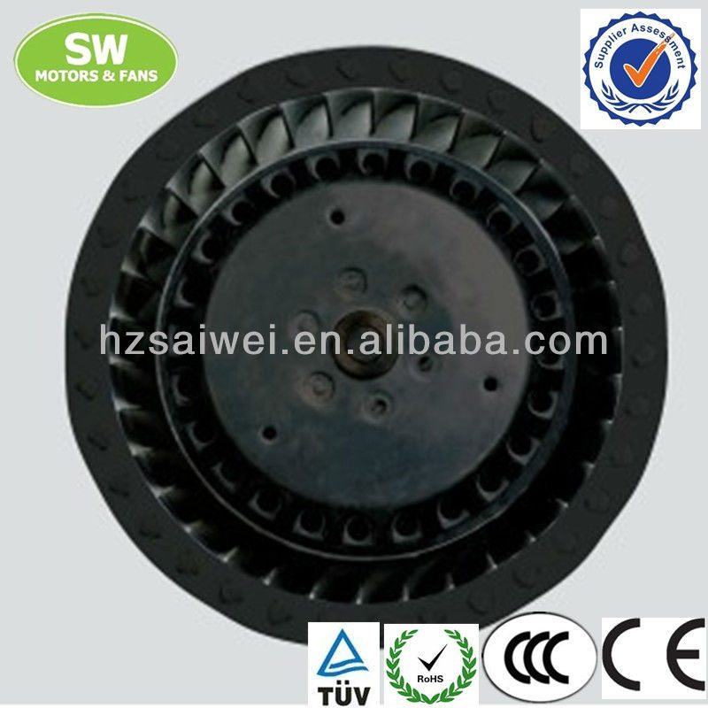 190mm backward centrifugal fans