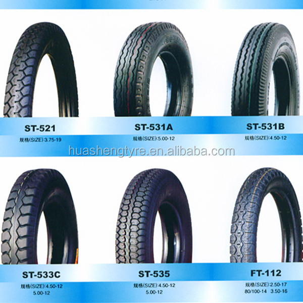 Bias rubber tyre 2.50-17 Motorcycle