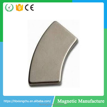 N35-N52 customized arc neodymium speaker magnet Drive Magnetic Disk Magnets Hard Drive Magnets
