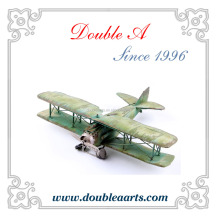 Wholesale old style metal airplane model vintage airplane model metal crafts collection classic home decorative items