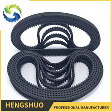 China best quality non-slipping fabric reinforce industrial durable timing belt rubber belt
