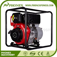 4inch 100mm Diesel Water Pump 186F 10HP Diesel Clean Water Pump