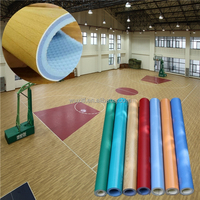 2016 hot various kinds PVC sports flooring for indoor sports court from china