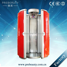 Beauty salon use 50pcs lamps vertical solarium tanning bed price