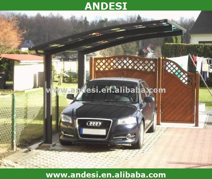 Waterproof single slope carport car canopy tent buy for Single slope carport